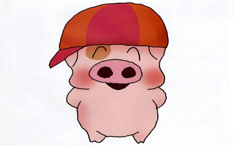 cute pigs cartoon wallpaper - photo #13