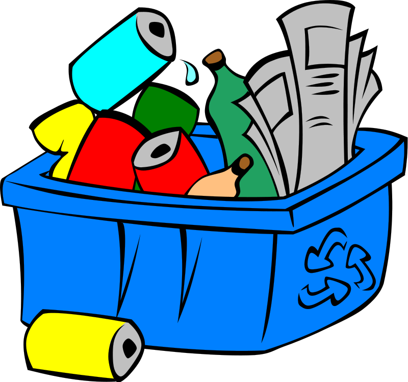 Picture Of Recycling Bin - ClipArt Best