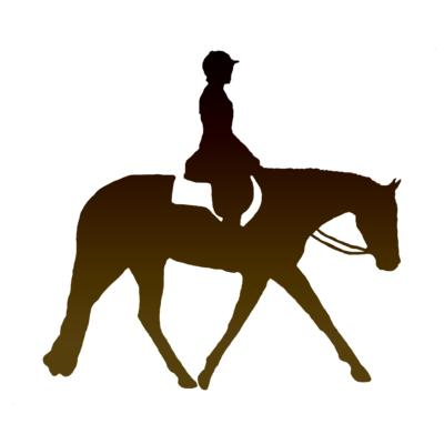 Western Pleasure Horse Silhouette - Cliparts.co