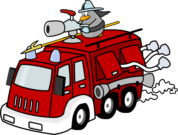 Free to Use & Public Domain Fire Truck Clip Art