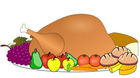 clipart thanksgiving table - photo #9