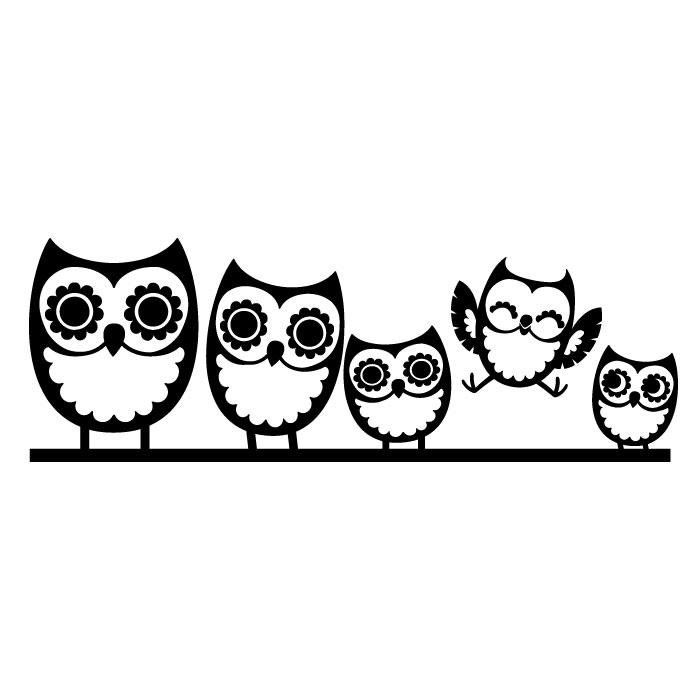 Owl Black And White Clip Art Cliparts.co