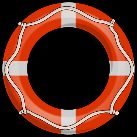 Life Preserver Ring Vector