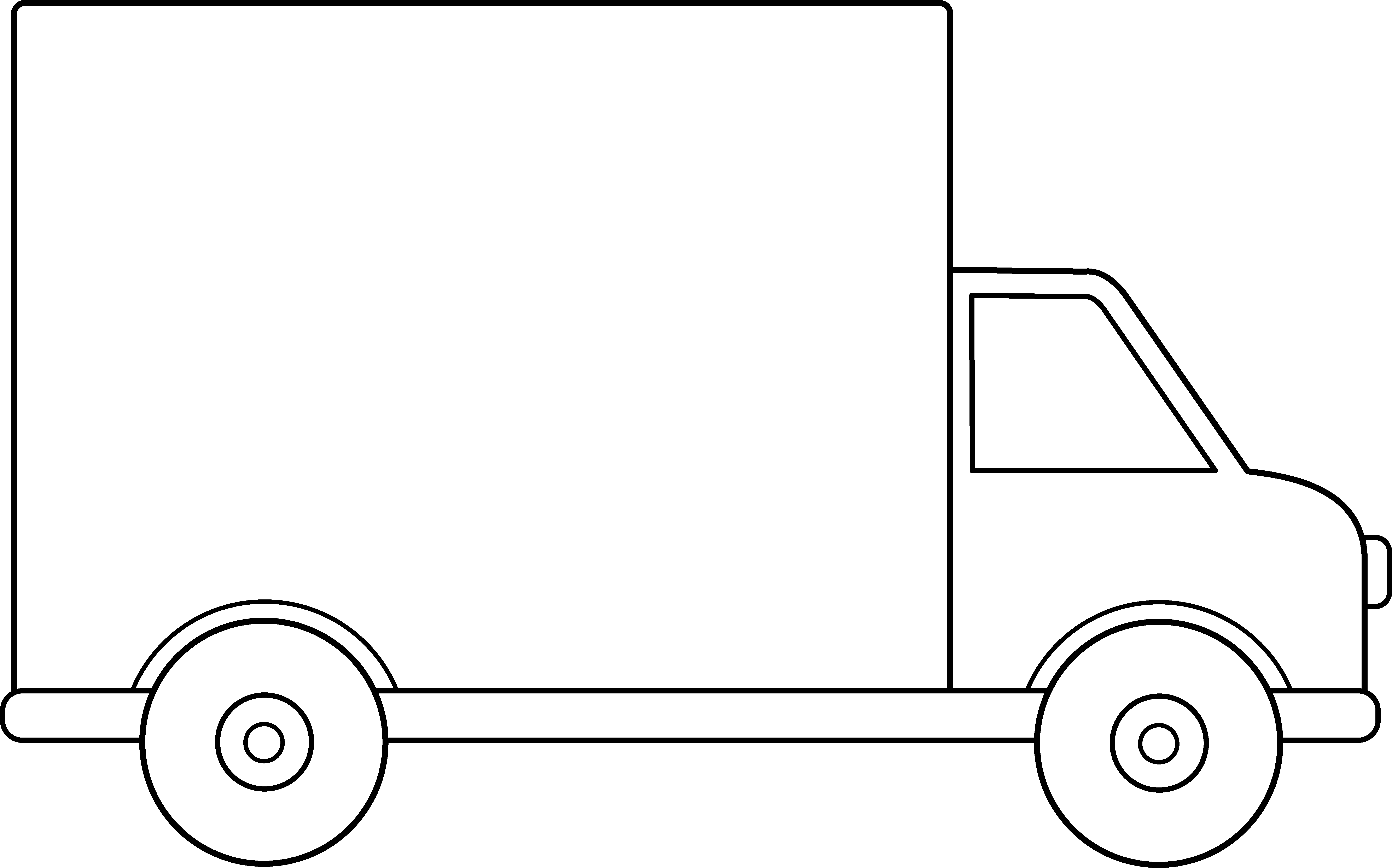 Moving Truck Cartoon - Cliparts.co