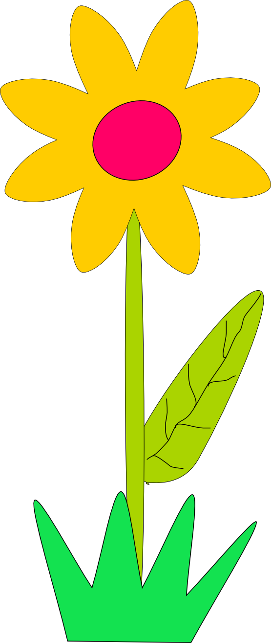 Groovy Flowers Clip Art - Cliparts.co