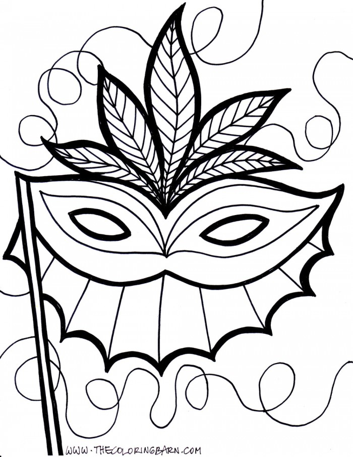 Masquerade Mask Clip Art - Cliparts.co