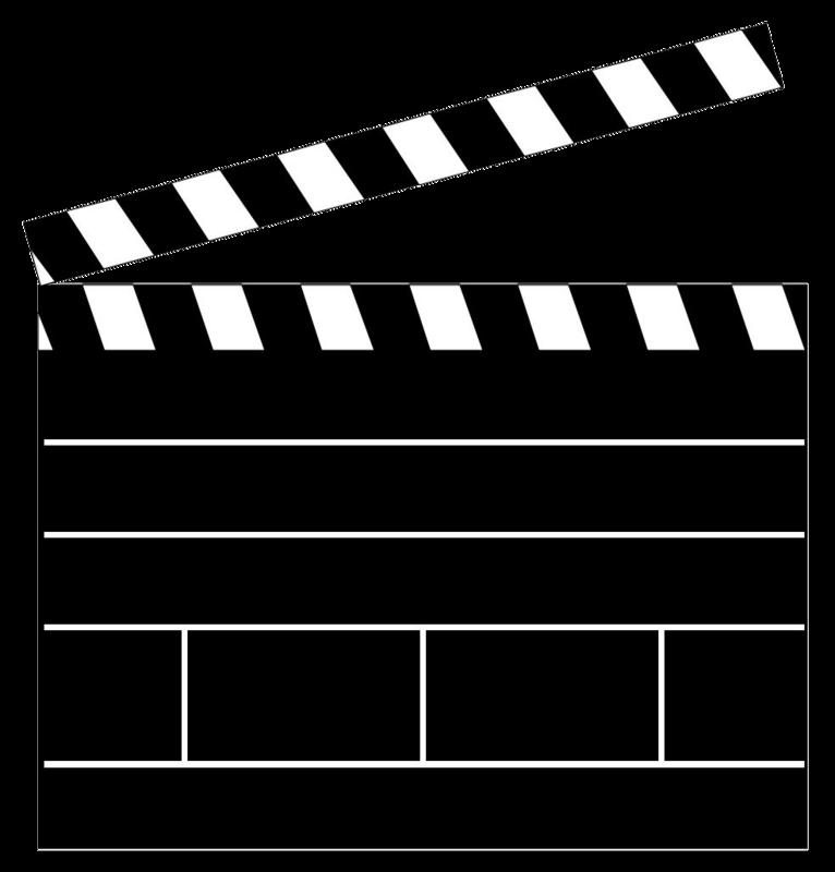 Clapper Board Clip Art - Cliparts.co