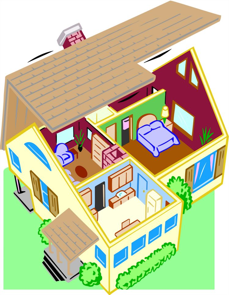 clipart inside house - photo #43