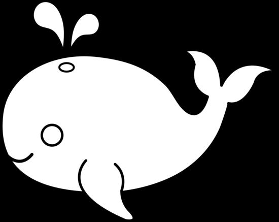 Clip Art Animals Black And White Ocean Animals Clip Art Black