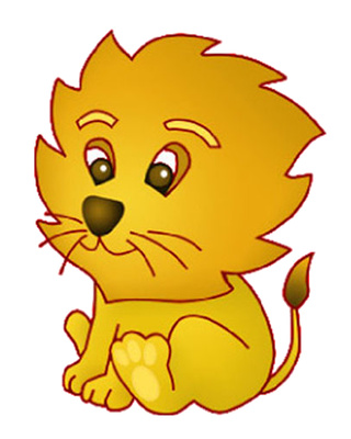 Cartoon Lion Drawing – Baby Lion Cub Clipart | Just Free Image ...