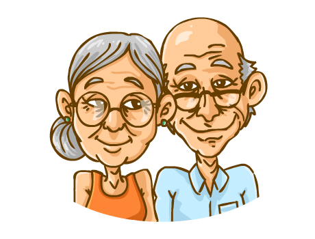 Cartoon Pictures Of Old People - Cliparts.co