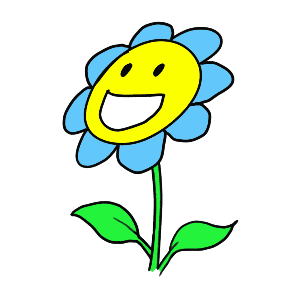 cartoon flowers images cliparts co