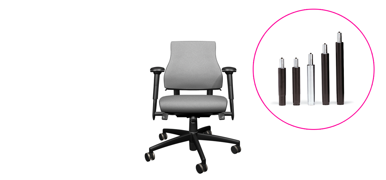 Office Chair For Small Or Light People BMA Ergonomics