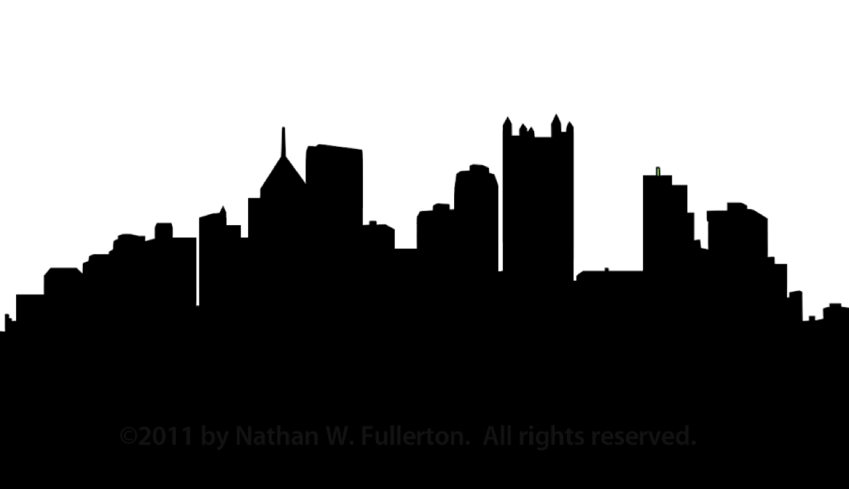 Outline Of New York Skyline - ClipArt Best