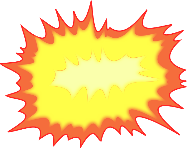 Explosion Clip Art Png...
