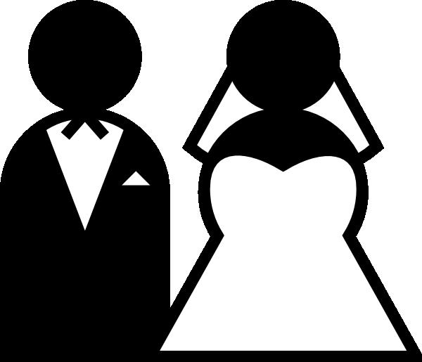 Wedding Cartoon Clip Art Black And White Wedding Cartoon Clip Art