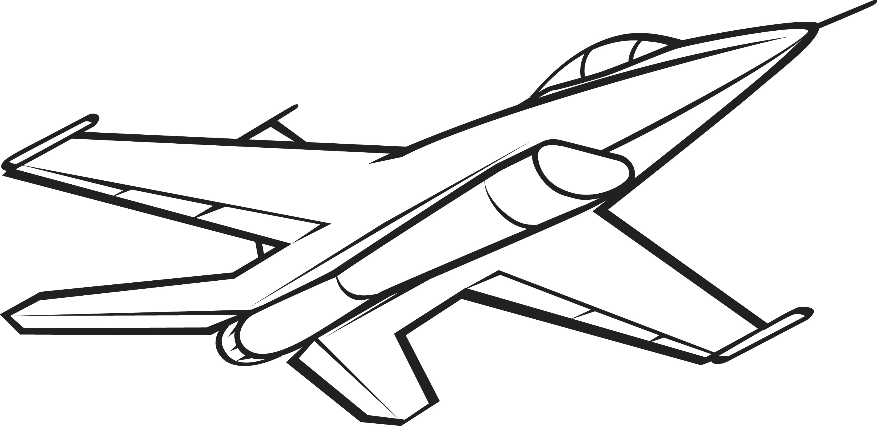 Line Drawing Jet : Airplane drawing pictures cliparts