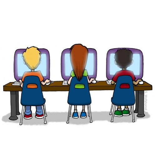 computer education clipart - photo #9