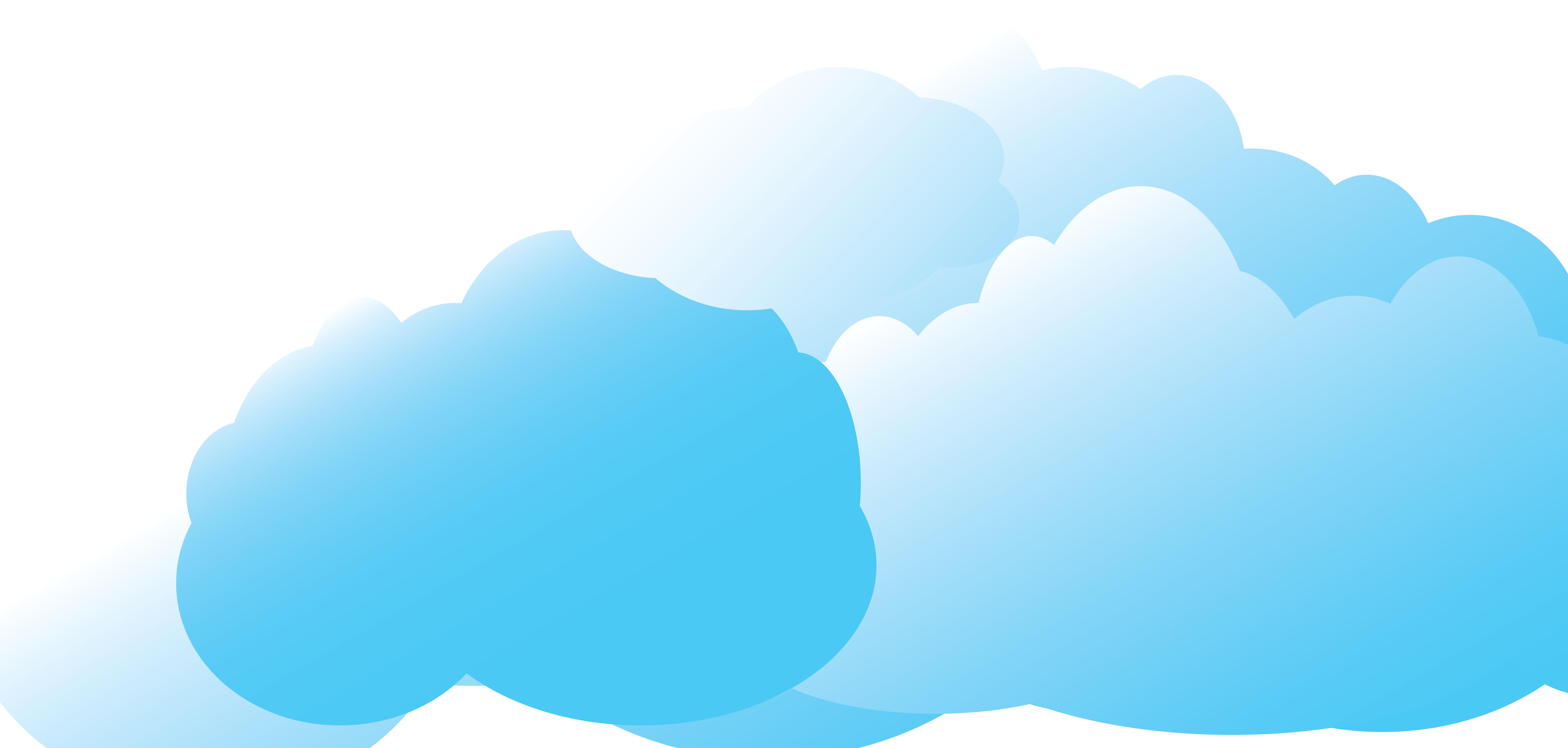 Animated cartoon clouds gif