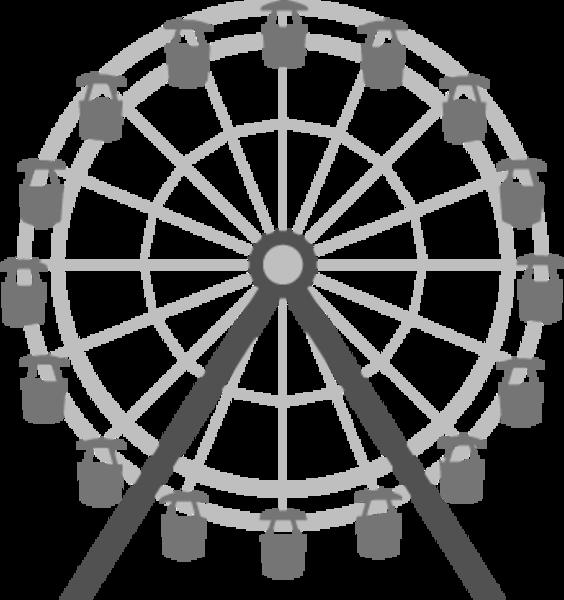 Abm Ferris Wheel image - vector clip art online, royalty free ...