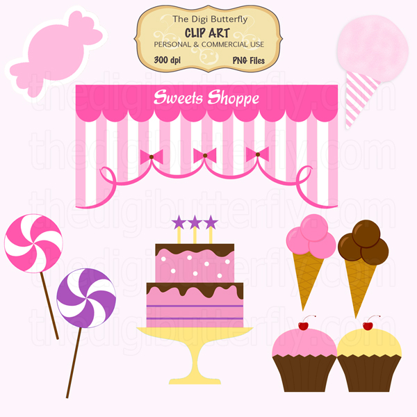 free clipart pictures sweets - photo #42