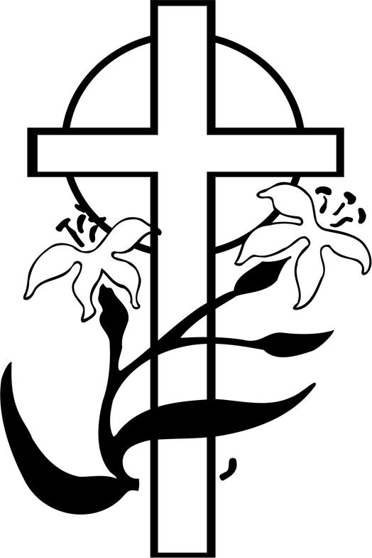christian clipart free black and white - photo #26