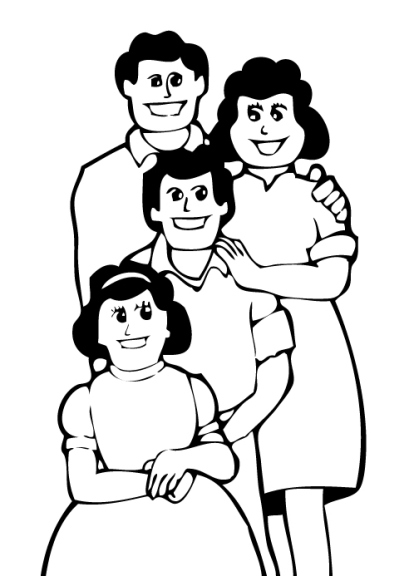 Clipart Family Members - Cliparts.co