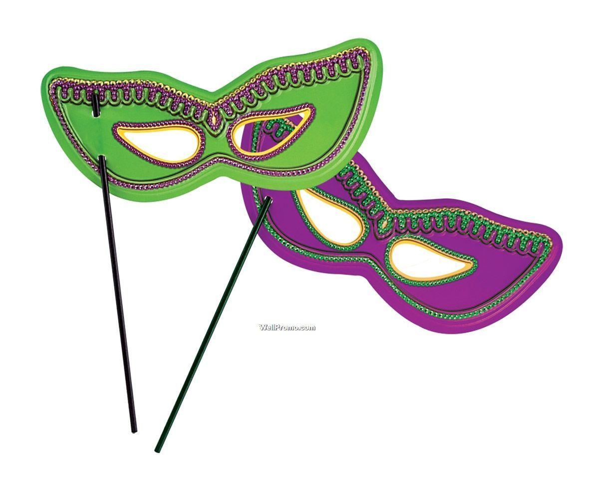 Printable Mardi Gras Mask,Imprinted Branded Printing Printed Mardi ...