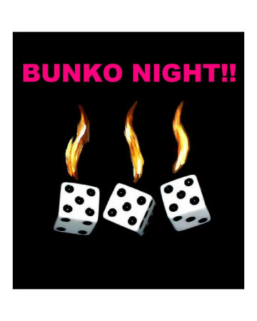 Bunco dice clip art