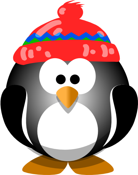 clipart panda winter - photo #22