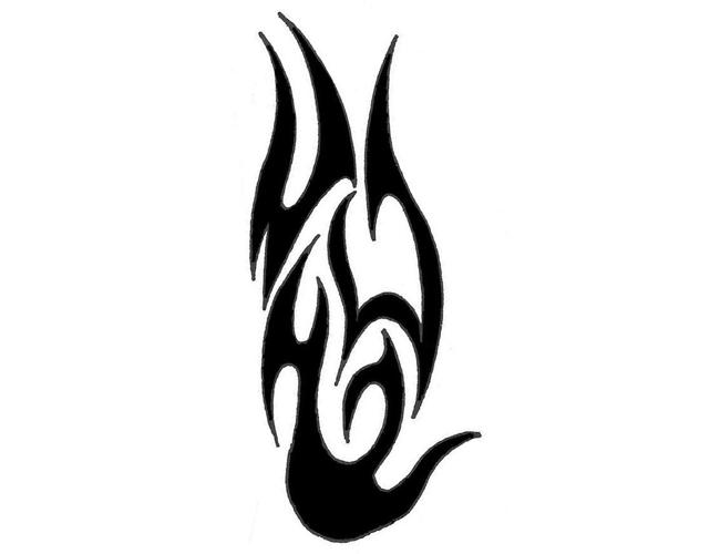 Fire Tribal Tattoo