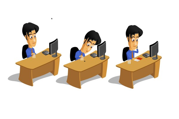 free animated office clip art - photo #15
