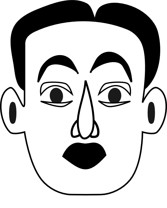 Clipart - Surprised (