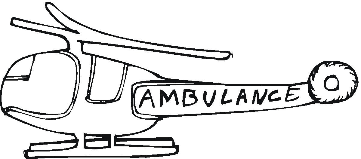 free medical helicopter coloring pages - photo#6