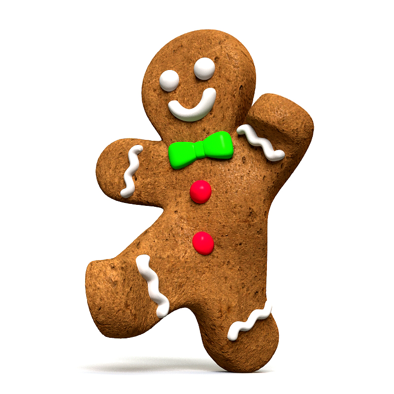 Images Of Gingerbread Men - Cliparts.co