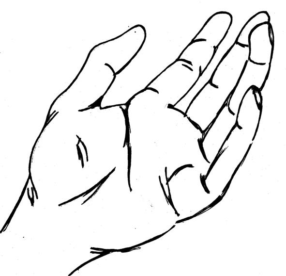 Free hand drawn vineyard #1 - stock vector download
