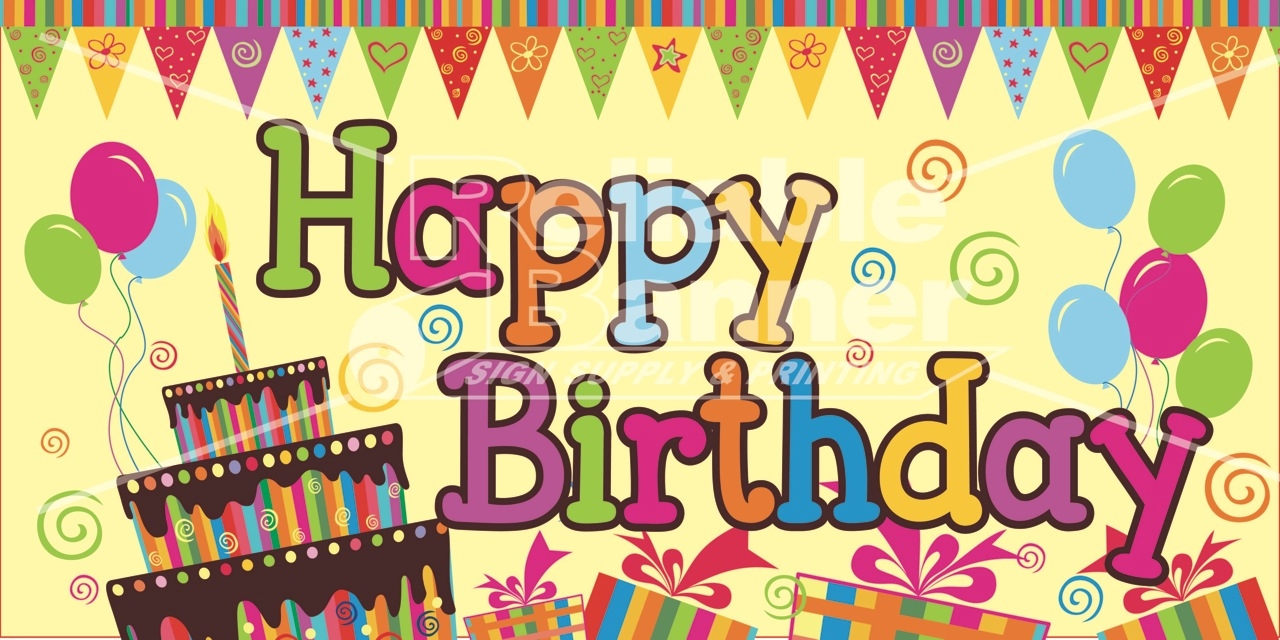 Birthday poster clipartsco for Birthday posters free download