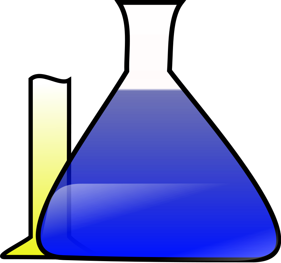 Chemical Science Experiment Clipart, vector clip art online ...