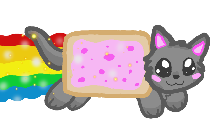 how to draw nyan cat draw so cute