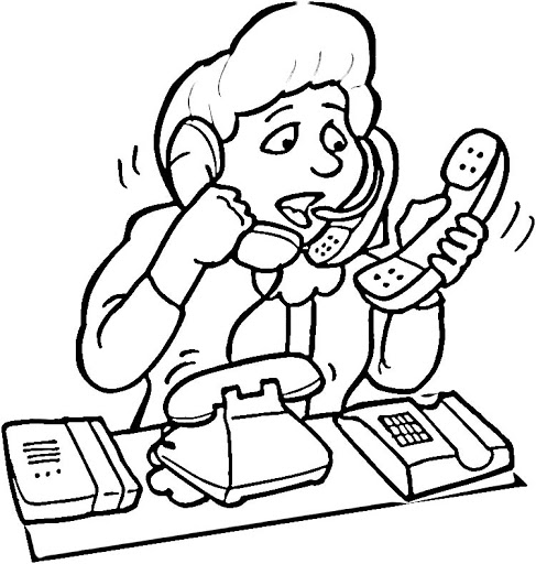 coloring pages of secretaries - photo#5