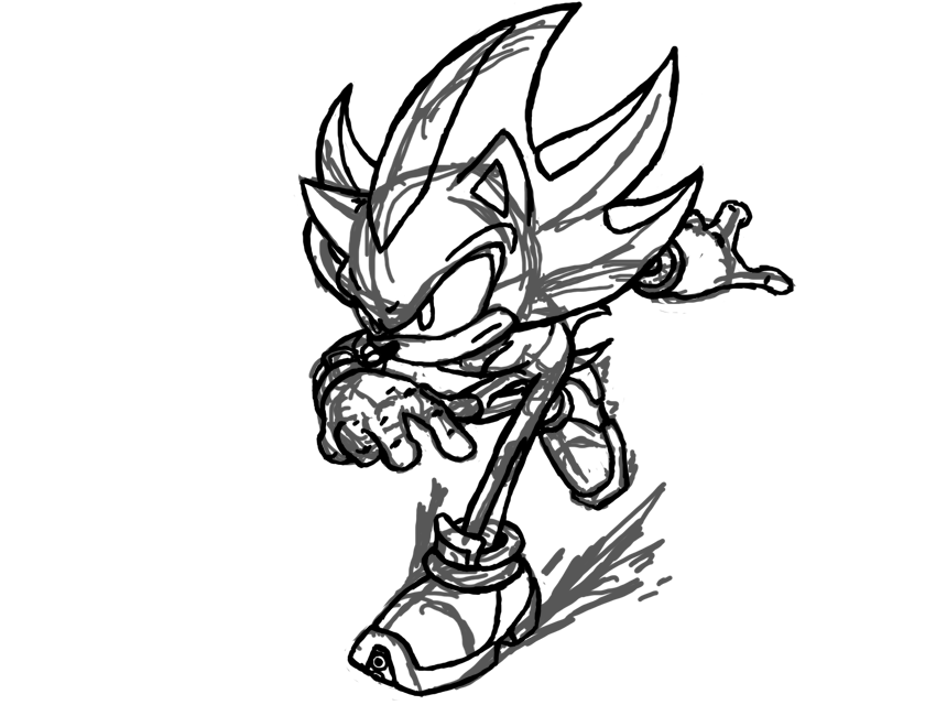 ARTWORK: SDo0m's Sketches and Stuff - Sonic Showcase - SSMB