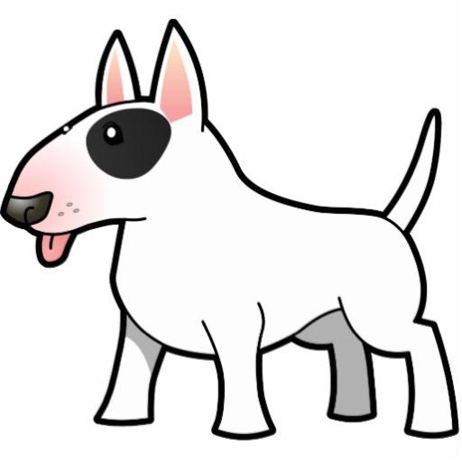 Bull Terrier Cartoon - Cliparts.co