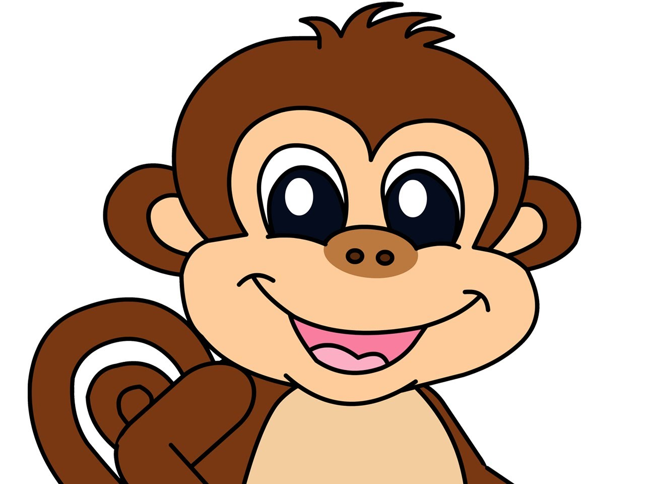 Monkey Images Cartoon