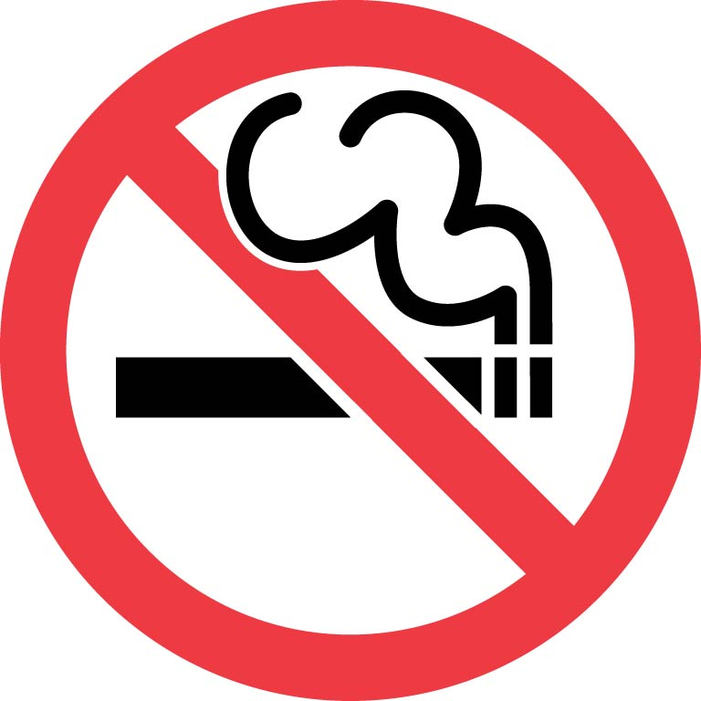 No smoking icon - Logo interdiction de fumer ...