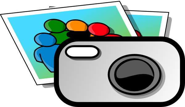 Digital Camera clip art - vector clip art online, royalty free ...