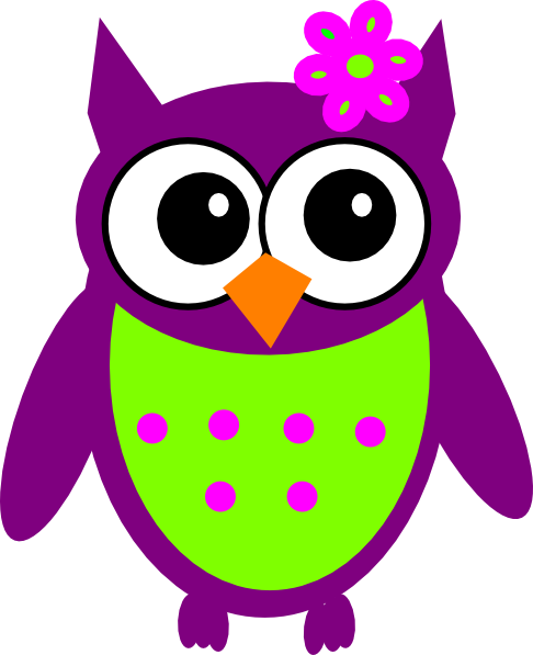 Purple Owl Clipart Clipart Panda Free Clipart Images