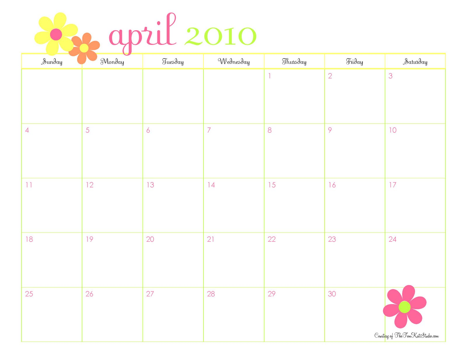 Qt Weekly Calendar : April calendar pictures cliparts