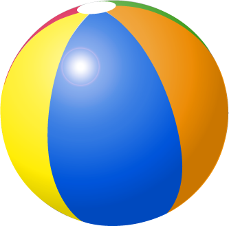 Pictures Of Beach Balls - ClipArt Best