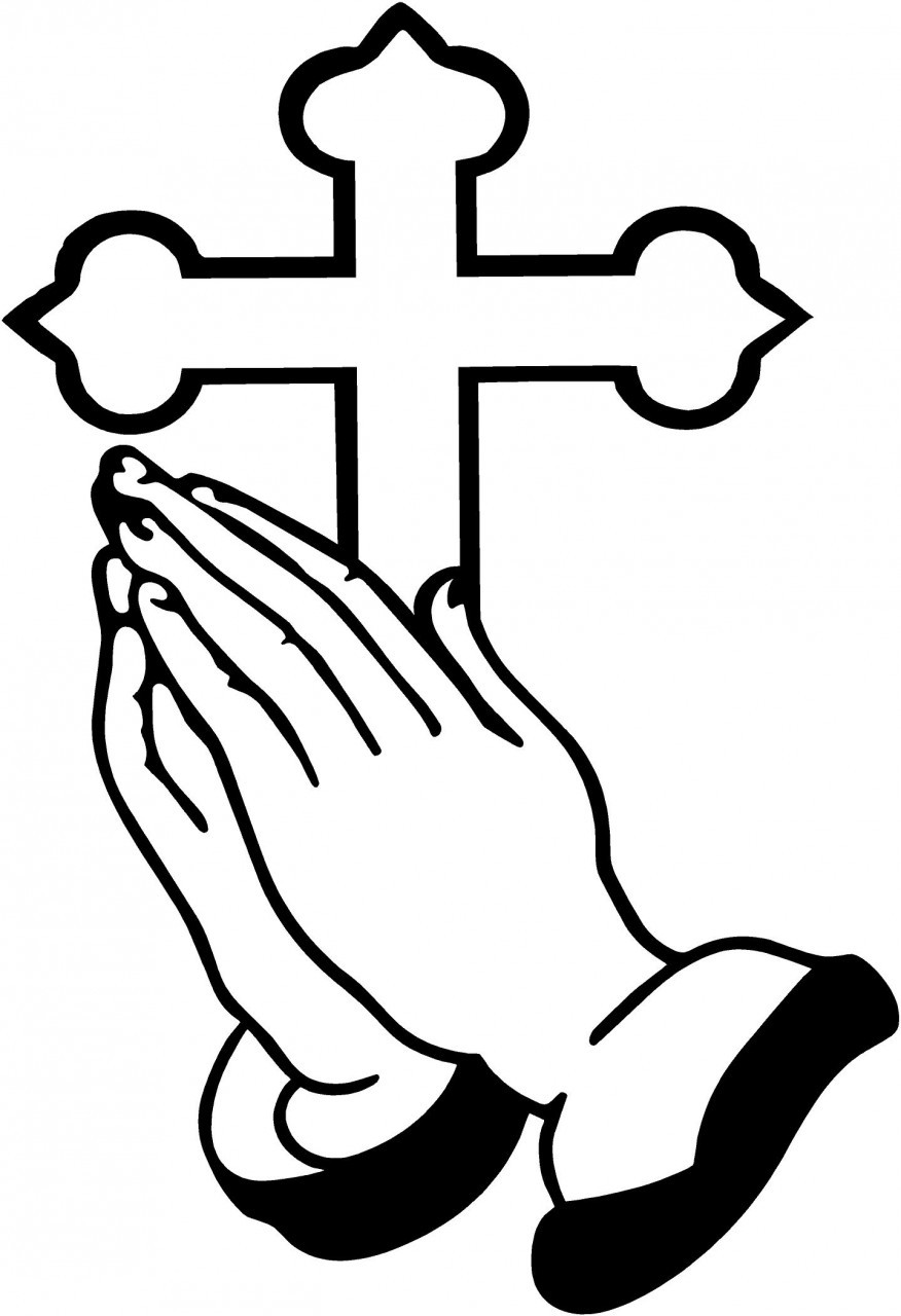 Praying Hands and Cross | Clipart Panda - Free Clipart Images