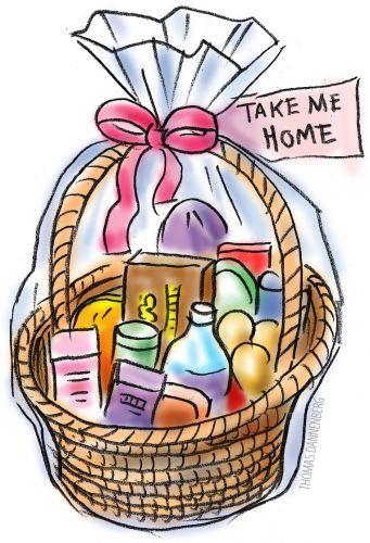 Art Basket Images : Gift basket clipart cliparts